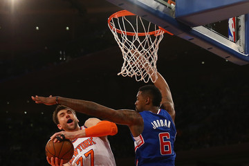 DeAndre Jordan Los Angeles Clippers v New York Knicks