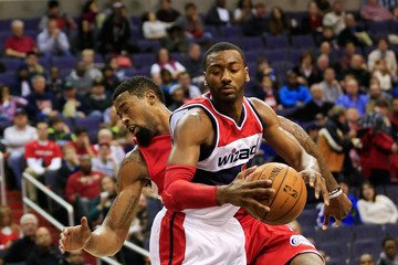 Image result for deandre jordan john wall