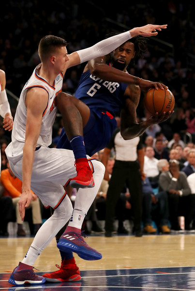 04bb151f8f0412 DeAndre Jordan Photos Photos - Los Angeles Clippers v New York ...