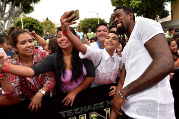 DeAndre Jordan 'Teenage Mutant Ninja Turtles' Premieres in Westwood — Part 2