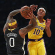 DeMarcus Cousins Golden State Warriors v Los Angeles Lakers