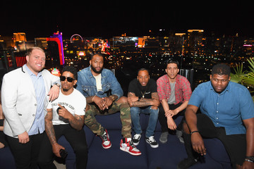 DeMarcus Cousins J.Cole Surprise Performance At Apex Social Club At Palms Casino Resort