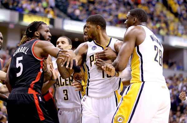 Toronto Raptors v Indiana Pacers - Game Four []