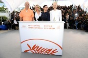 "Bill Murray, Chloe Sevigny, Selena Gomez and Tilda Swinton attend the photocall for ""The Dead Don't Die"" during the 72nd annual Cannes Film Festival on May 15, 2019 in Cannes, France."