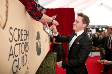Dean-Charles Chapman The 23rd Annual Screen Actors Guild Awards - Red Carpet