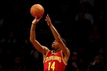 Deandre Liggins Cleveland Cavaliers v Brooklyn Nets