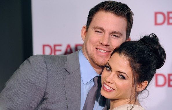 jenna dewan and channing tatum kissing. Channing Tatum and Jenna Dewan