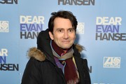 "David Tennant attends the ""Dear Evan Hansen"" opening night at the Noel Coward Theatre on November 19, 2019 in London, England."