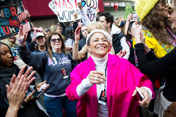 Debbie Allen Women's March Los Angeles