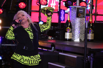 Debbie Harry General Views of New Year's Eve at Times Square