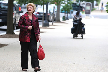 Debbie Stabenow Senators On Capitol Hill Debate GOP Healthcare Bill