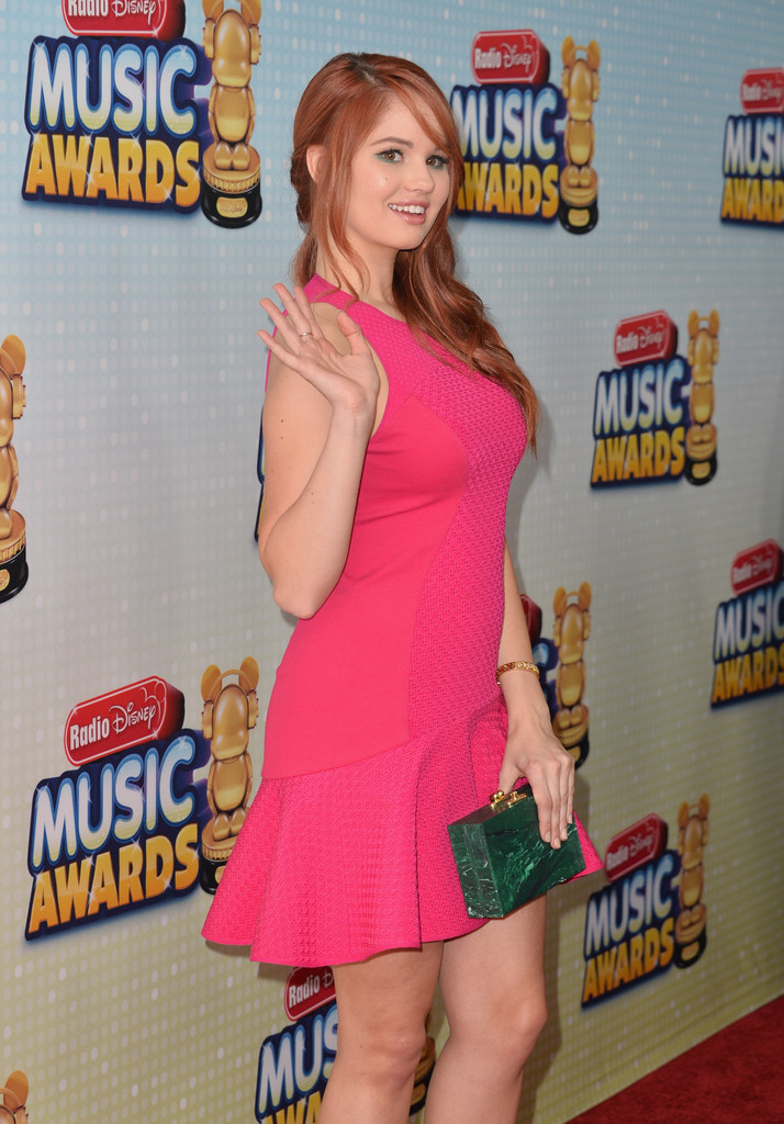 Debby Ryan - 2013 Radio Disney Music Awards - Arrivals