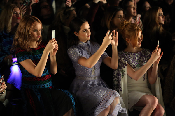Tadashi Shoji - Front Row - Fall 2016 New York Fashion Week: The Shows