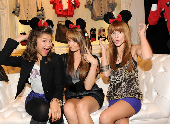 Zendaya Coleman and Debby Ryan - Forever 21 VIP Event With Minnie Mouse And Guests