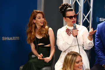 Debi Mazar The Cast of 'Younger' Visits the SiriusXM Studios