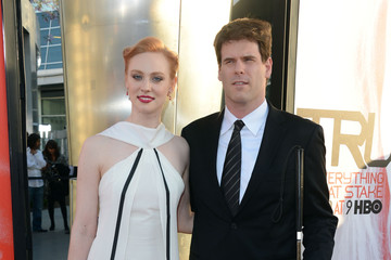 Deborah Ann Woll and ej scott