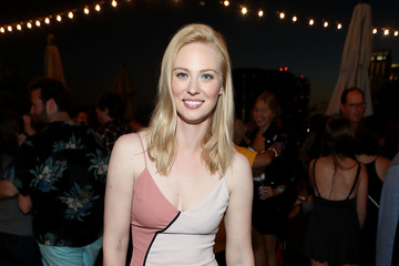 Deborah Ann Woll Entertainment Weekly and Marvel After Dark event at the EW Studio at Comic-Con