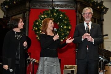 Debra Del Vecchio Brooks Brothers And St Jude Children's Research Hospital Annual Holiday Celebration In New York City