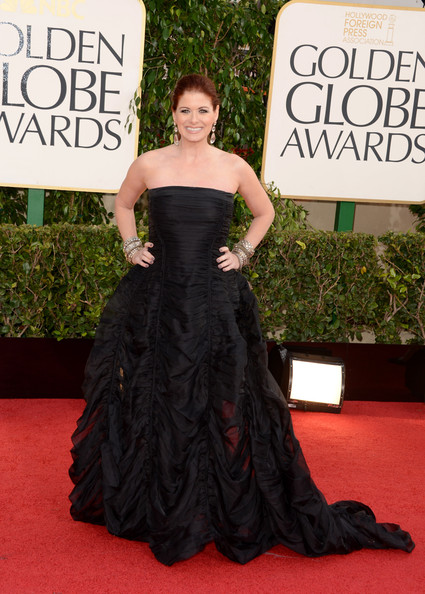 Debra Messing - 70th Annual Golden Globe Awards - Arrivals