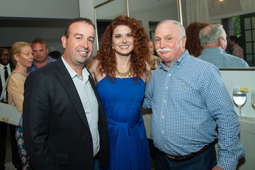 Debra Messing Hamptons Magazine Hosts Debra Messing Issue Celebration