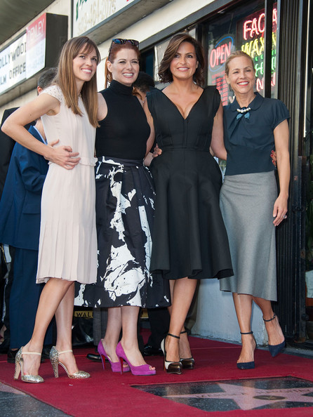 Mariska Hargitay Honored on the Walk of Fame