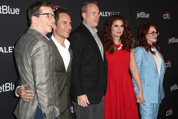 """Debra Messing Megan Mullally The Paley Center For Media's 35th Annual PaleyFest Los Angeles - """"Will & Grace"""" - Arrivals"""