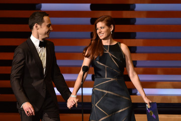 Debra Messing 66th Annual Primetime Emmy Awards Show