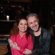 Debra Messing Audible Theater Presents A Special Performance Of 'Legal Immigrant' Starring Alan Cumming At Minetta Lane Theatre