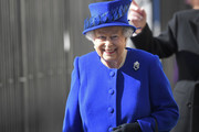 """Britain's Queen Elizabeth II smiles as she attends the unveiling of The Iraq and Afghanistan memorial at Victoria Embankment Gardens in central London on March 9, 2017..The preceding """"Service of Dedication"""" honoured the service and duty of both the UK Armed Forces and civilians in the Gulf region, Iraq and Afghanistan, and those who supported them back home, from 1990-2015 / AFP PHOTO / POOL / Toby Melville"""