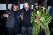 (L-R) LL Cool J, Paul Rosenberg and 2 Chainz attend the Def Jam Pre-Grammy 2019 party  at Catch LA on February 08, 2019 in West Hollywood, California.