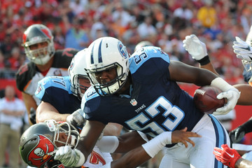 Deiontrez Mount Tennessee Titans v Tampa Bay Buccaneers