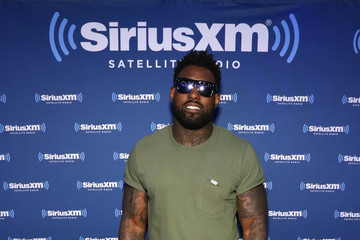 Delanie Walker SiriusXM at Super Bowl LI Radio Row