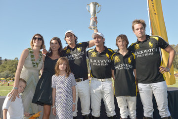 Delfina Blaquier The Fourth-Annual Veuve Clicquot Polo Classic, Los Angeles - Inside