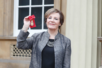 Delia Smith Investitures at Buckingham Palace