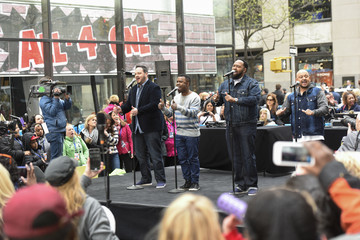 Delious Kennedy I Love the '90s Concert Tour Performs on NBC's 'Today'