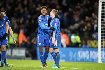 Demarai Gray Leicester City v Huddersfield Town - Premier League