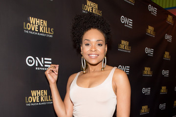 Demetria McKinney 'WHEN LOVE KILLS: THE FALICIA BLAKELY STORY' Red Carpet Screening and Q&A