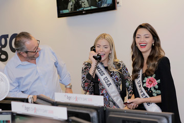 Demi-Leigh Nel-Peters Sarah Rose Summers Annual Charity Day Hosted By Cantor Fitzgerald, BGC and GFI - BGC Office - Inside