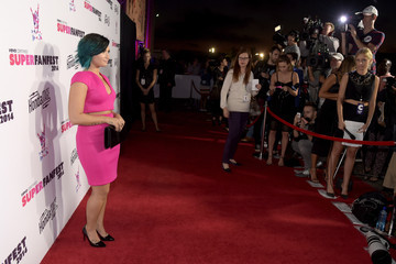 Demi Lovato Arrivals at the SuperFanFest Show