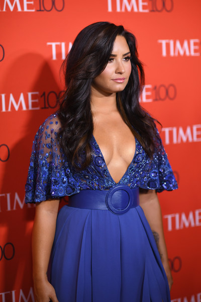 Demi Lovato In Zuhair Murad 2017 Time 100 Gala