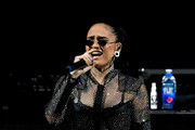 Singer Kehlani performs at The Forum on March 2, 2018 in Inglewood, California.