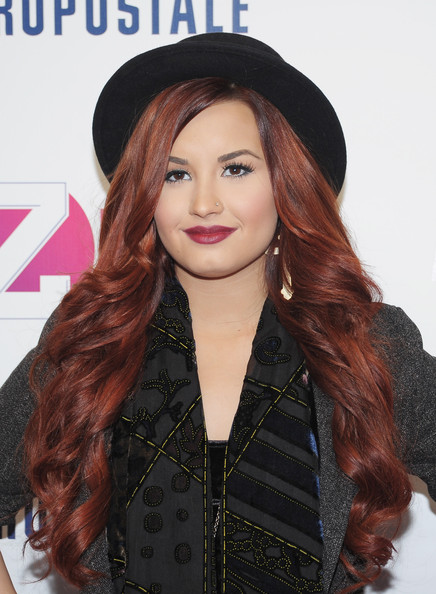 Demi Lovato Singer Demi Lovato attends Z100's Jingle Ball 2011, presented by Aeropostale Madison Square Garden on December 9, 2011 in New York City.