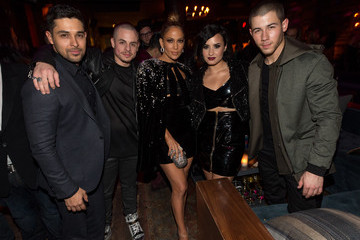Demi Lovato Jennifer Lopez's 2015 American Music Awards After Party