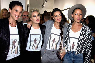 Demi Moore Brian Bowen Smith's 'Wildlife' Show
