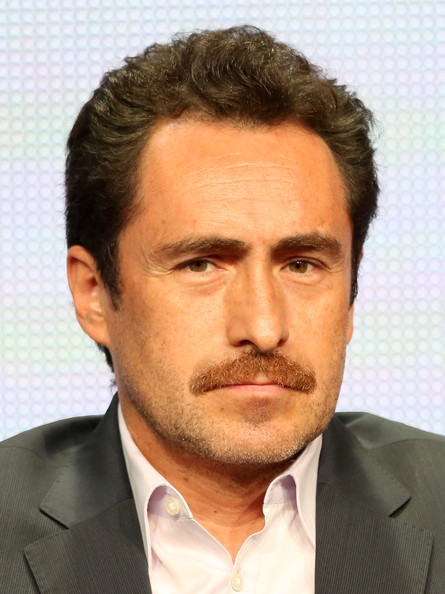 Demian Bichir Actor Demian Bichir speaks onstage during  quot The Bridge    Demian Bichir