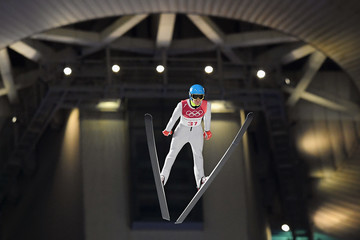 Denis Kornilov Ski Jumping - Winter Olympics Day -1