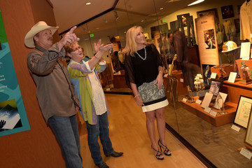 Denise Jackson Alan Jackson Exhibit Opening Reception At Country Music Hall Of Fame And Museum