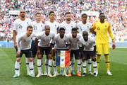 France pose prior to  the 2018 FIFA World Cup Russia group C match between Denmark and France at Luzhniki Stadium on June 26, 2018 in Moscow, Russia.
