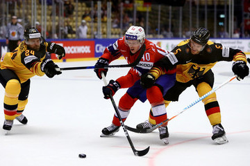 Dennis Seidenberg Germany vs. Norway - 2018 IIHF Ice Hockey World Championship
