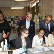Dennis Walcott Tommy Hilfiger And Chancellor Walcott Kick Off Fashion Week By Going Back To School